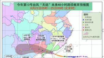 中央气象台发布红色预警 应急响应提升至二级应对
