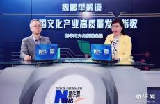魏鹏举解读中国文化产业高质量发展指数